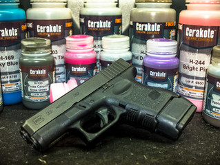 CERAKOTE YOUR SLIDE! Single Color, Free return Shipping.  $70.00