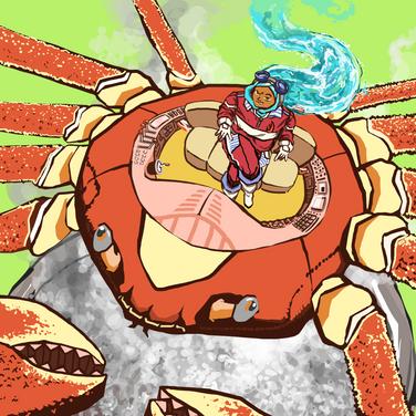 Crab Girl Mecha