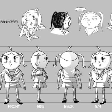 Ant Manga Character Reference