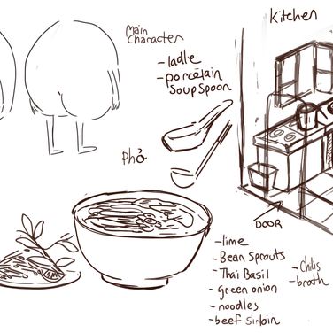 Pho Character Design