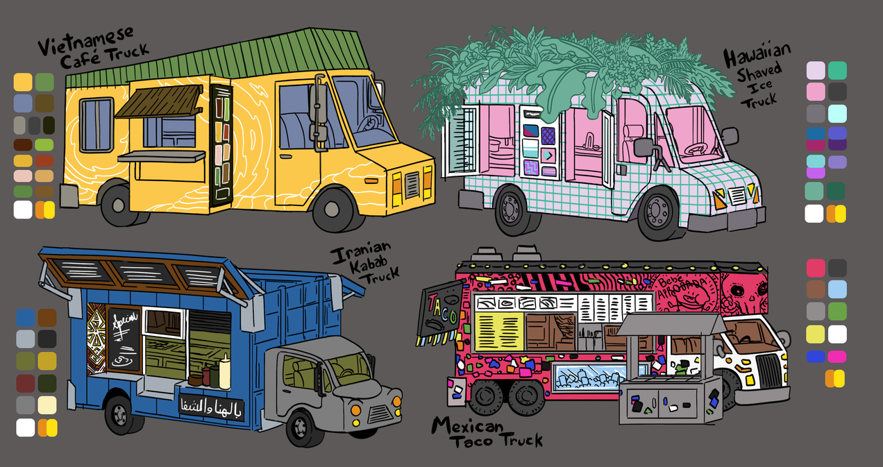 Food Truck References