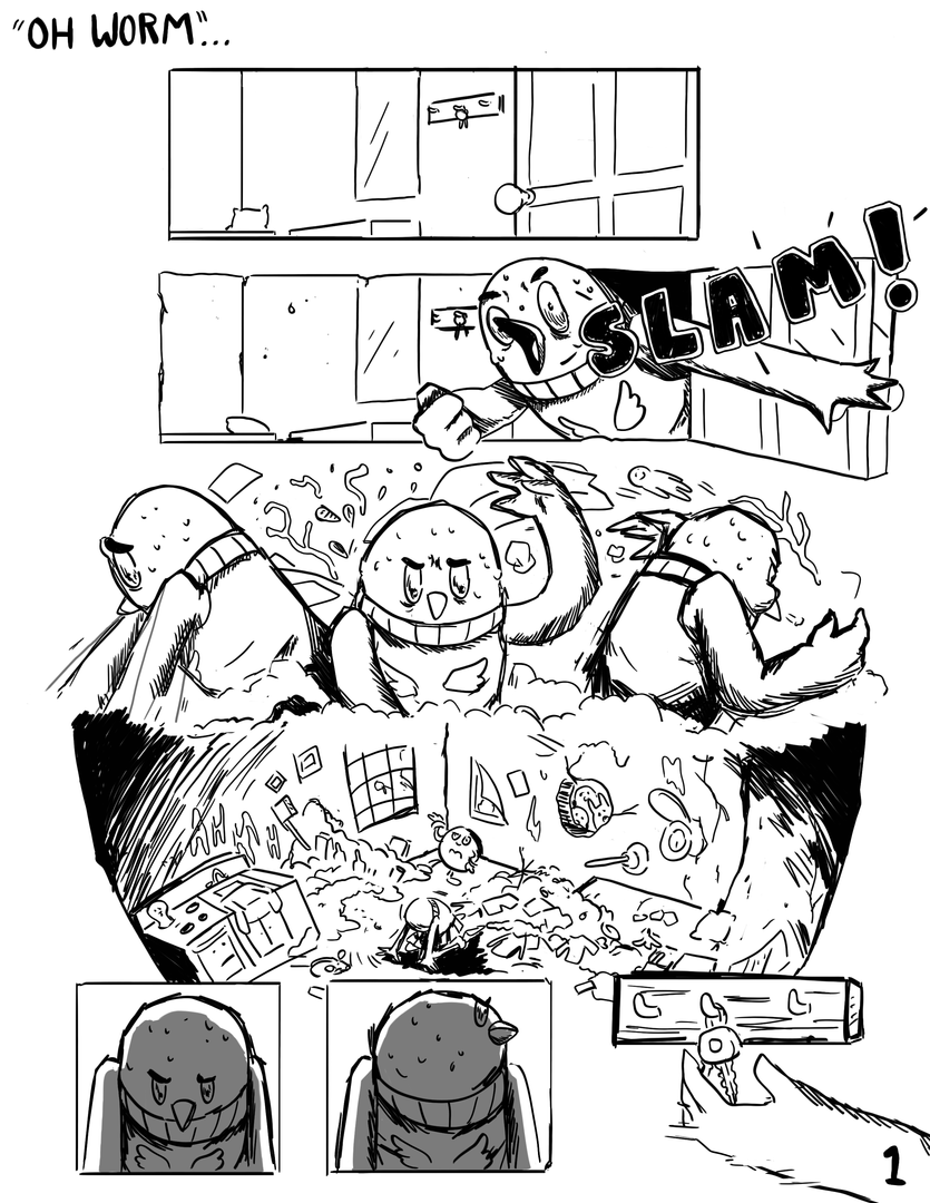 Pg 1 - Silent Comic