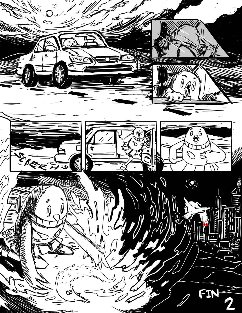 Pg 2 - Silent Comic