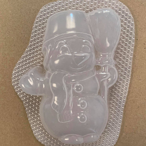 CHRISTMAS SNOWMAN BATH BOMB/SOAP MOULD