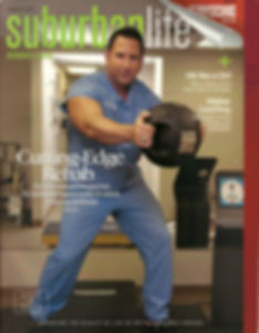 Dr. David in the U.S. applied the Vertical Vibration Equipment as the Device for Rehabilitation