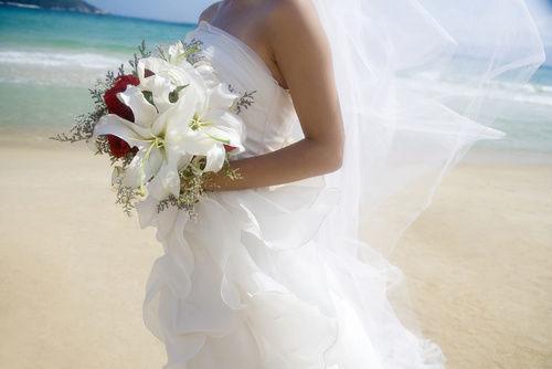 Beach wedding Destination Bride