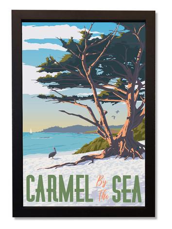 Carmel+By+The+Sea+Framed.jpg