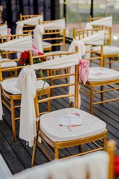 Guest chair decoration