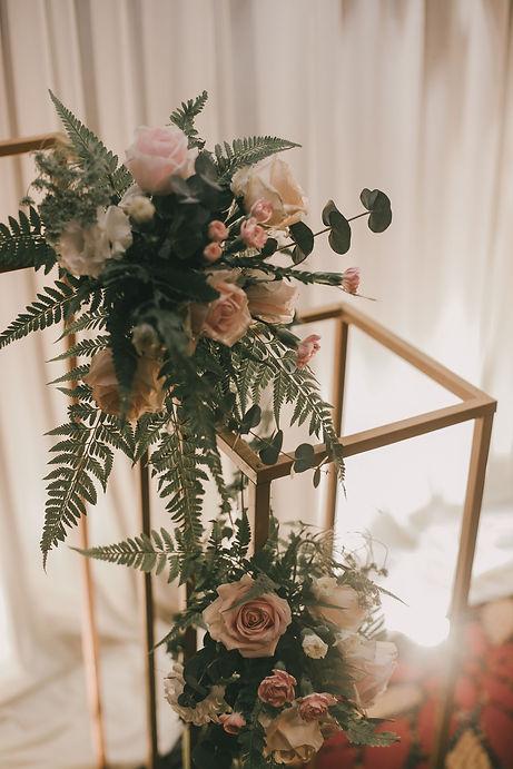 Entrance floral decoration