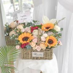 Flower Basket 18