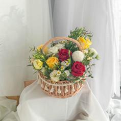 Flower Basket 16