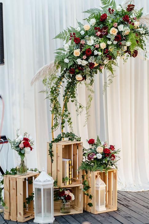 Stage backdrop decoration