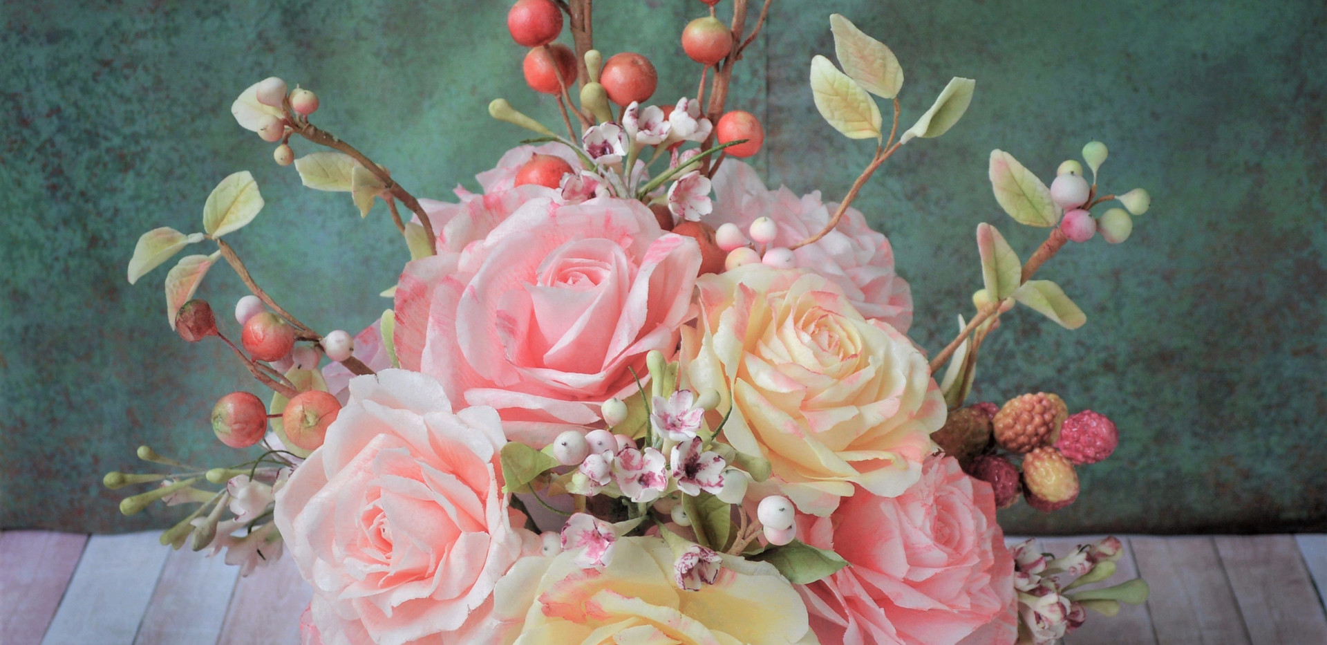 Wafer Paper Rose Boquet