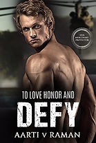 To Love Honor and Defy (Her Mercenary Protector)