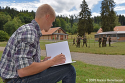 Working with the Swiss Defense department