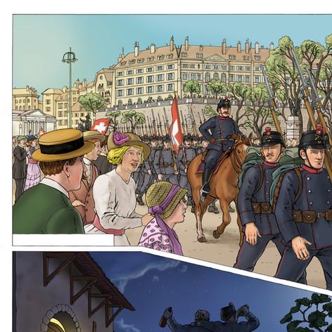 BD'Historic, book 1 sample, 2018
