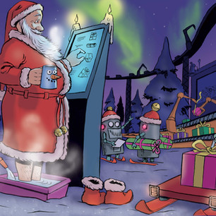 Siams Christmas card, 2016