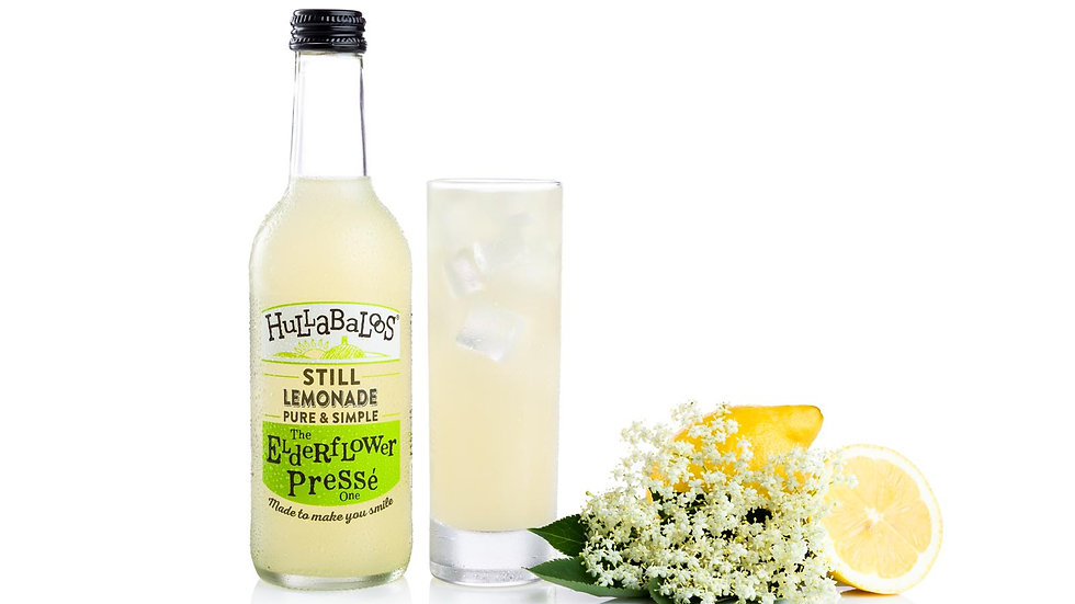 Hulabaloos 330ml The elderflower one.
