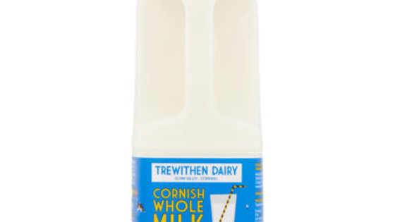 Full Cornish milk 1ltr