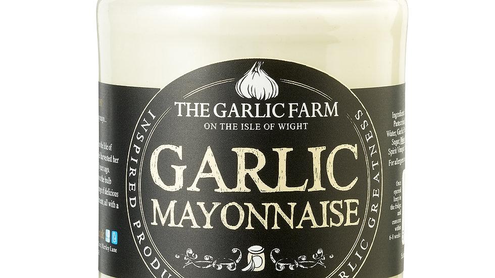 Isle of Wight garlic mayonnaise