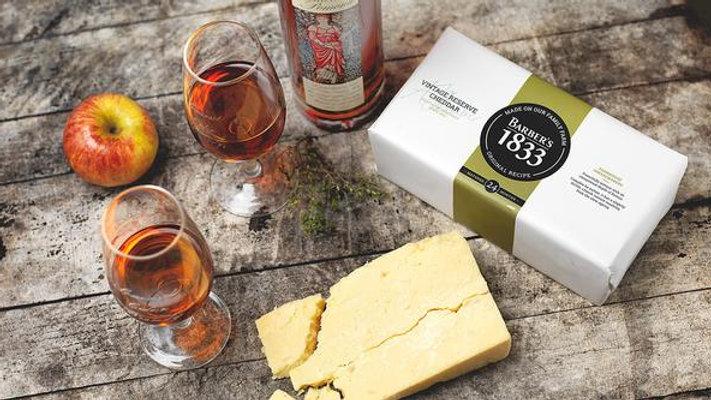 Cheddar cheese barbers 1833 190grm