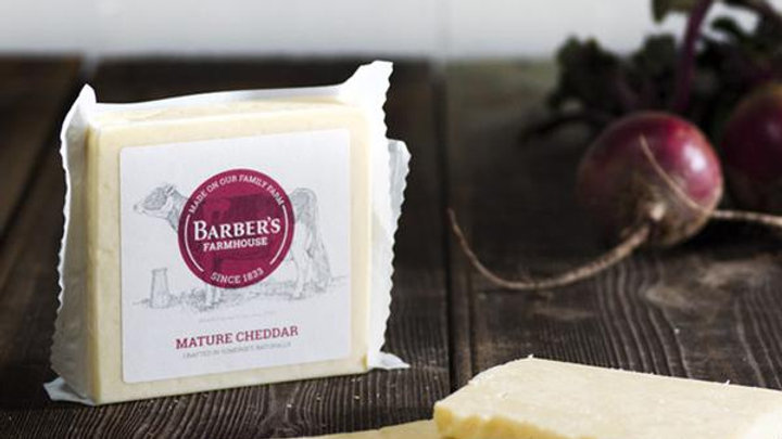 Cheddar cheese mature, Barbers