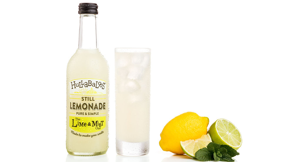 Hulabaloos 330ml Lime & Mint.