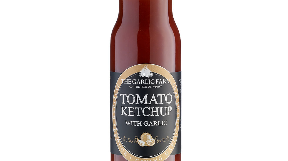 Isle of Wight tomato ketchup with garlic