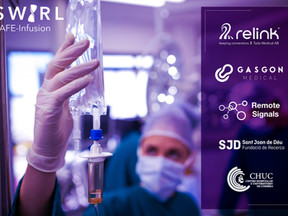 Swirl SAFE-infusion project awarded €3m funding to improve delivery of IV medicines