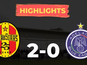 HIGHLIGHTS: MetroStars 2-0 Adelaide Blue Eagles