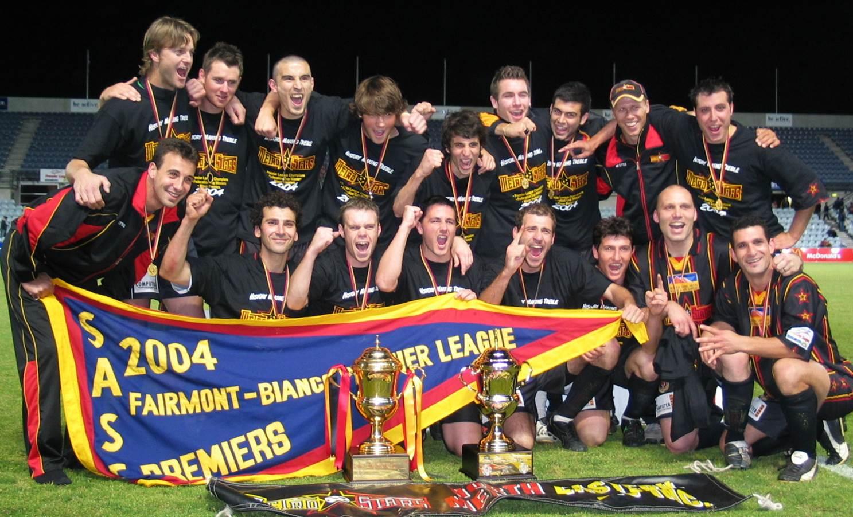 2004 - SA Premier League Champions
