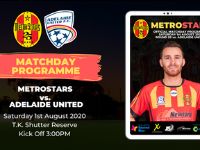 Matchday Program | MetroStars vs. Adelaide United