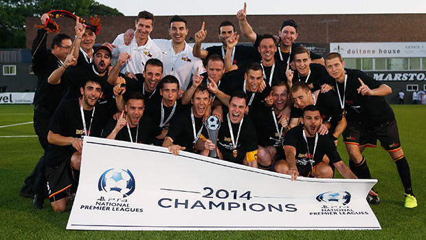 2014 NATIONAL NPL CHAMPIONS