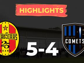 HIGHLIGHTS: MetroStars 5-4 Adelaide Comets