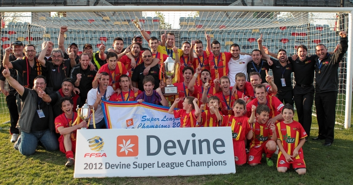 2012 Super League Champions