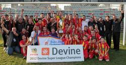 2012 Super League Champions