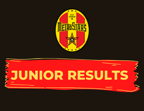 Juniors Results - 23rd May 2021