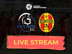 LIVE STREAM: Adelaide Olympic vs. MetroStars