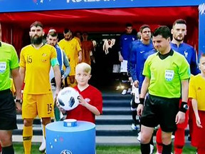 Max Sampson At The World Cup