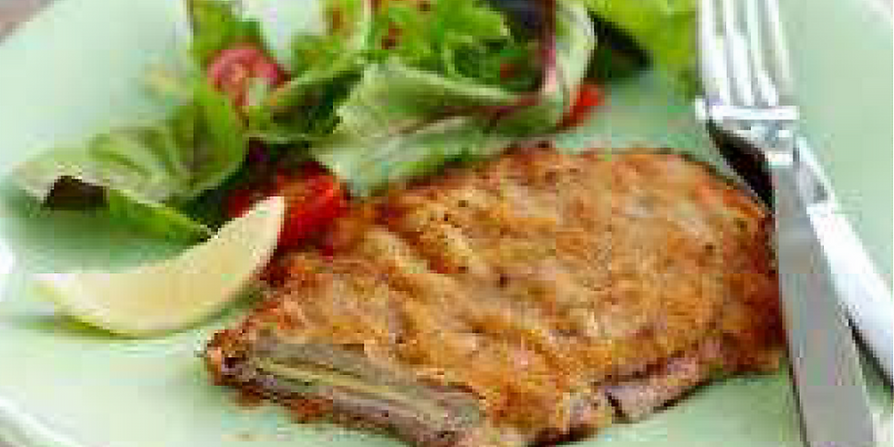 Dinner With The Stars - Veal Cordon Bleu