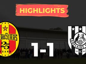 HIGHLIGHTS: MetroStars 1-1 Adelaide City