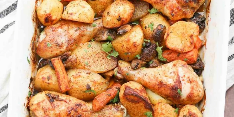 Dinner With The Stars - Oven Baked Chicken