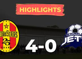 HIGHLIGHTS: MetroStars 4-0 Modbury Jets