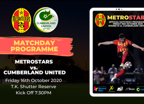 Matchday Program | MetroStars vs. Cumberland United