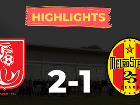 HIGHLIGHTS: Croydon Kings 2-1 MetroStars
