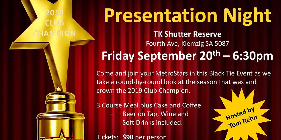 MetroStars Senior Presentation Night