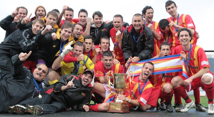 2012 Federation Cup Champions