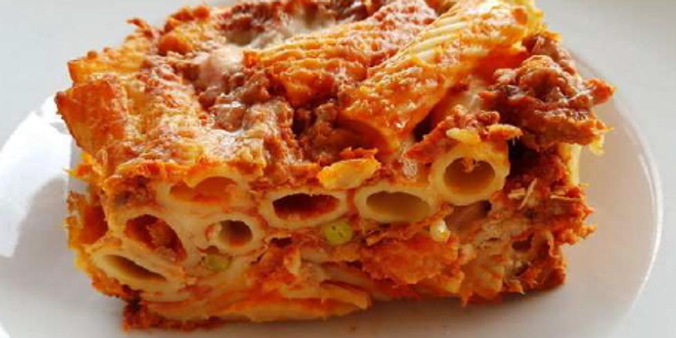 Dinner With The Stars - Pasta al Forno