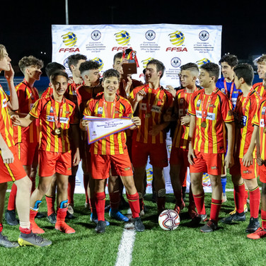 2019 - Junior Boys Cup Finals