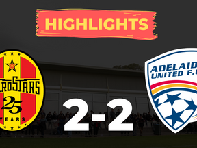 HIGHLIGHTS: MetroStars 2-2 Adelaide United